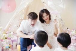 【美天棋牌】谢娜分享张杰与女儿的有爱日常 网友:好温馨!