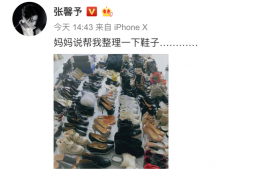 【美天棋牌】张馨予海量鞋子曝光 她还说其实这也不是全部