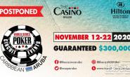 【美天棋牌】2020年世界扑克大赛阿鲁巴国际巡回赛正式延期