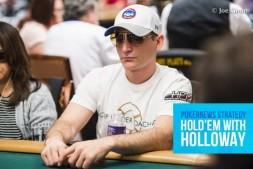 【美天棋牌】德州扑克巧妙的河牌圈诈唬
