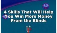 【美天棋牌】德州扑克四招让你在盲位赢得更多