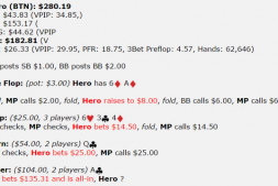 【美天棋牌】德州扑克河牌圈拿到了两对,鱼玩家allin,怎么打?