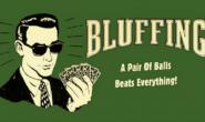 【美天棋牌】七个不要在德州扑克中诈唬的场合