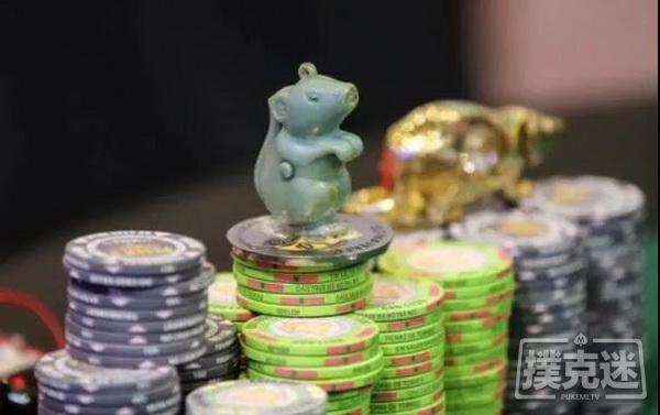 【美天棋牌】在深筹码扑克中,要勇于全下