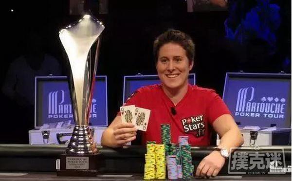 【美天棋牌】女鲨鱼Vanessa Selbst以教练身份回归扑克圈