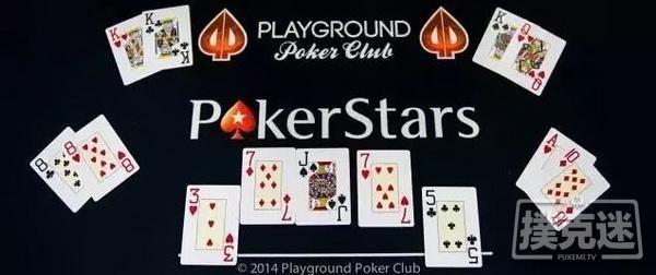 【美天棋牌】疯狂All in!史上最快4人德州扑克决赛桌,老头上演逆天大屠杀