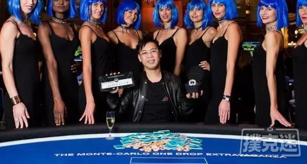 【美天棋牌】中国人夺得扑克史上最高买入锦标赛冠军, 赢8200万奖金!