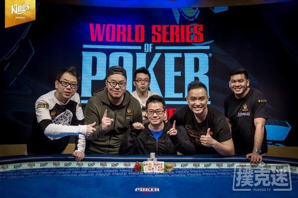 【美天棋牌】香港选手曾恩盛赢得职业生涯第二条金手链