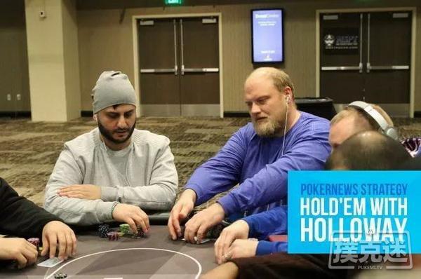 【美天棋牌】自取灭亡的AA   德州扑克牌局分析