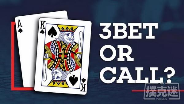 【美天棋牌】德州扑克AK除了3Bet,还可以这样玩