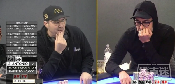 【美天棋牌】Phil Hellmuth和Esfandiari的第二场单挑即将重启