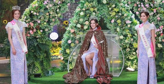 【美天棋牌】香港小姐决赛落幕 谢嘉怡获香港小姐冠军