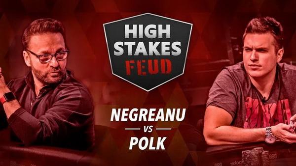 【美天棋牌】丹牛和Polk的单挑赛将继续进行至25000手