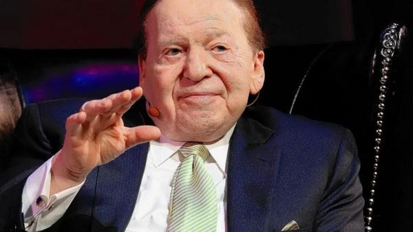 【美天棋牌】Sheldon Adelson请病假接受癌症治疗