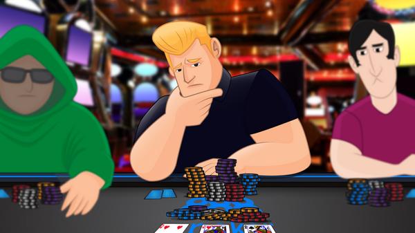 【美天棋牌】德州扑克作为战略武器和目标之间的制胜法宝:C-bet