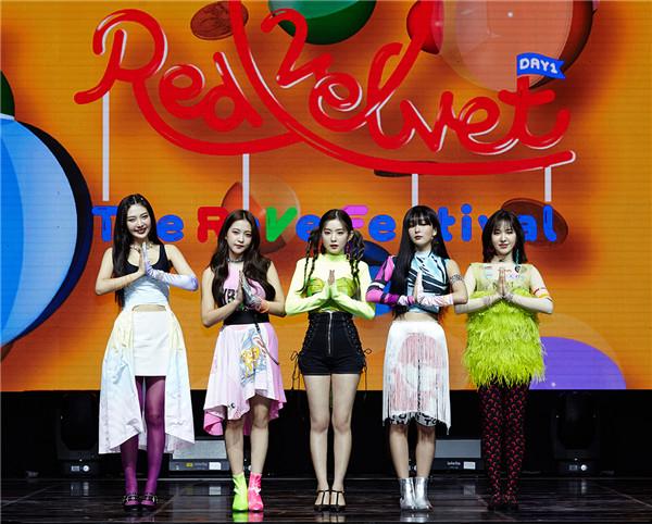 【美天棋牌】Red Velvet超大型《Zimzalabim》