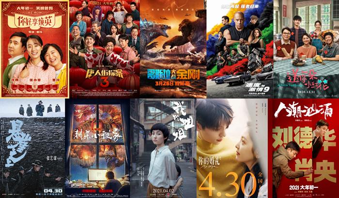 【美天棋牌】2021年度电影票房突破250亿!有你的一票吗?